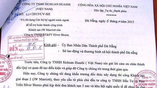 300 lao động Trung Quốc vào Đà Nẵng: Cảnh giác hình thành khu phố Tàu ảnh 2