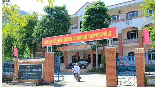 Trụ sở khang trang của huyện nghèo đòi xây trung tâm hành chinh 100 tỉ ảnh 8
