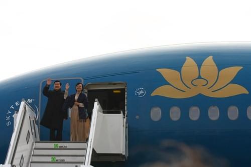Máy bay chiến đấu hộ tống đoàn Chủ tịch nước Trương Tấn Sang thăm Đức ảnh 3
