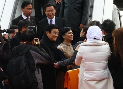 Máy bay chiến đấu hộ tống đoàn Chủ tịch nước Trương Tấn Sang thăm Đức ảnh 7