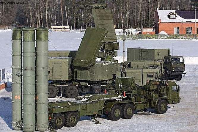 Nga đã triển khai hệ thống tên lửa S-400 tối tân đến chiến trường Syria