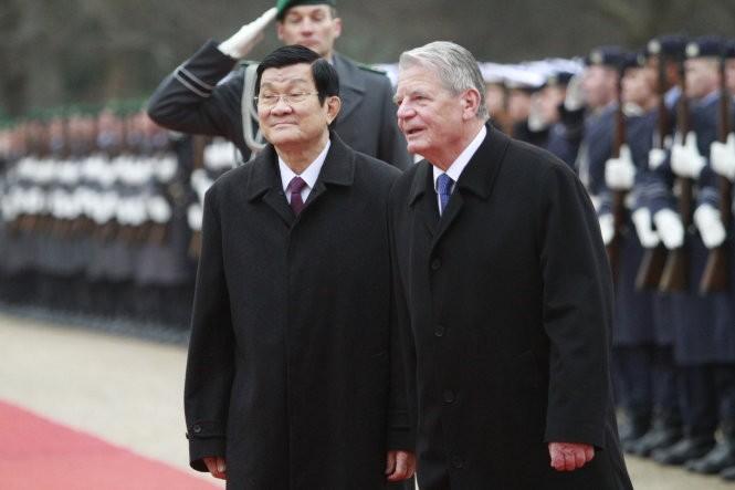 Lãnh đạo Việt – Đức lo ngại việc tôn tạo bãi đá ở biển Đông ảnh 3