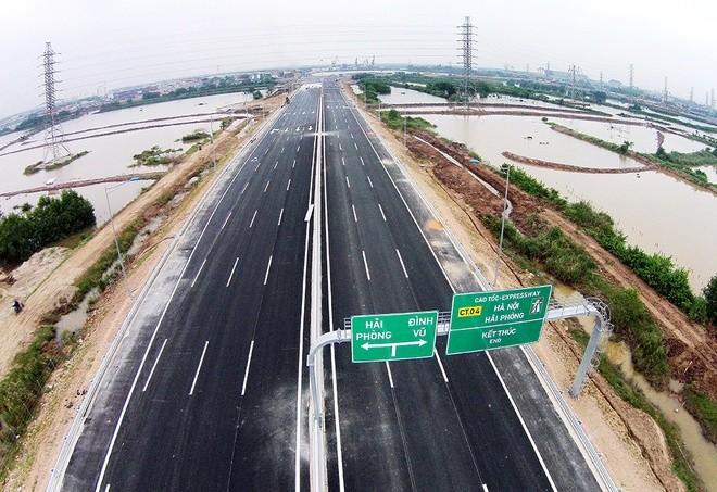 """""""Mở hàng"""" cao tốc Hà Nội - Hải Phòng trước ngày thông xe toàn tuyến ảnh 9"""
