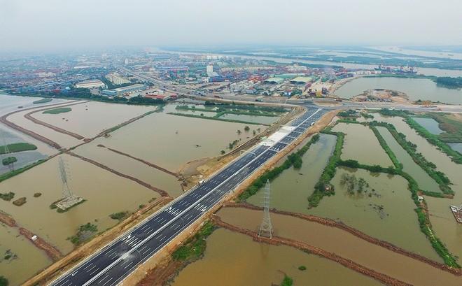 """""""Mở hàng"""" cao tốc Hà Nội - Hải Phòng trước ngày thông xe toàn tuyến ảnh 10"""