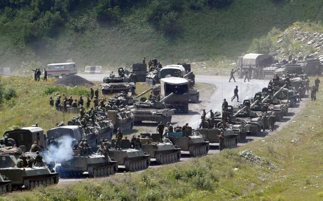 Quân đội Nga trong cuộc chiến 5 ngày với Gruzia năm 2008