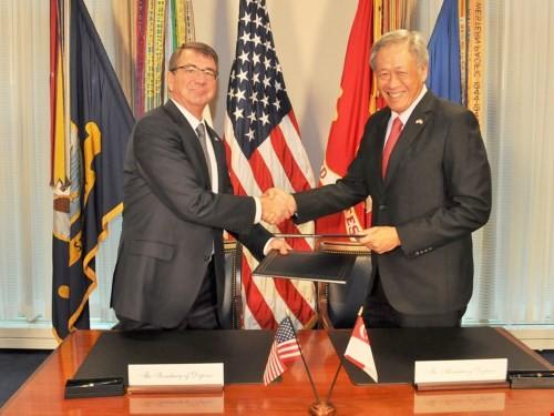 """Biển Đông căng thẳng: Mỹ điều """"sát thủ săn ngầm"""" P-8 Poseidon tới Singapore ảnh 1"""