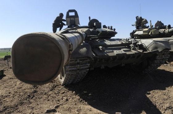 Điểm mặt dàn xe tăng hiện đại của Nga ảnh 1