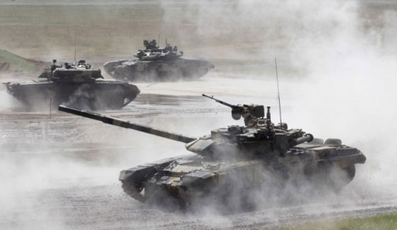 Điểm mặt dàn xe tăng hiện đại của Nga ảnh 3