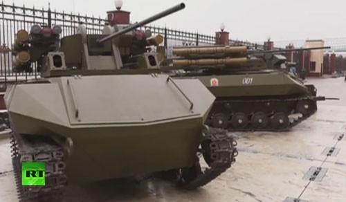 Nga ráo riết chuẩn bị cho chiến tranh robot ảnh 1