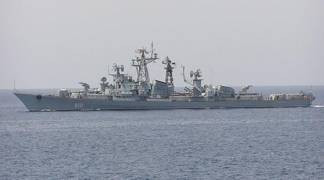 Tàu khu trục Nga đã nổ súng cảnh cáo tàu Thổ Nhĩ Kỳ