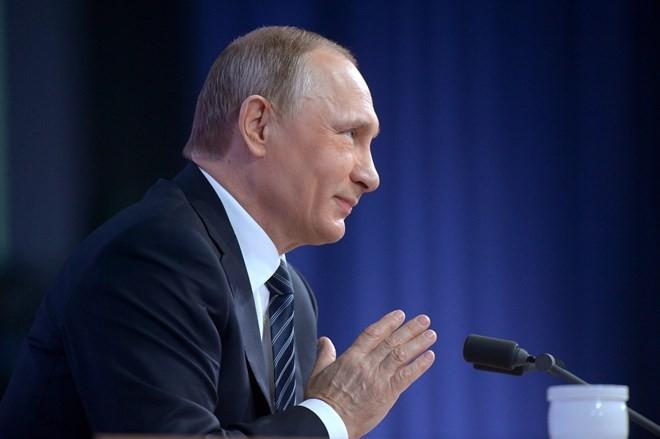 """Putin và những câu trả lời """"đỉnh"""" trong cuộc họp báo tất niên ảnh 3"""