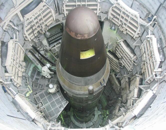 Tên lửa hạt nhân liên lục địa trong giếng phóng cố định