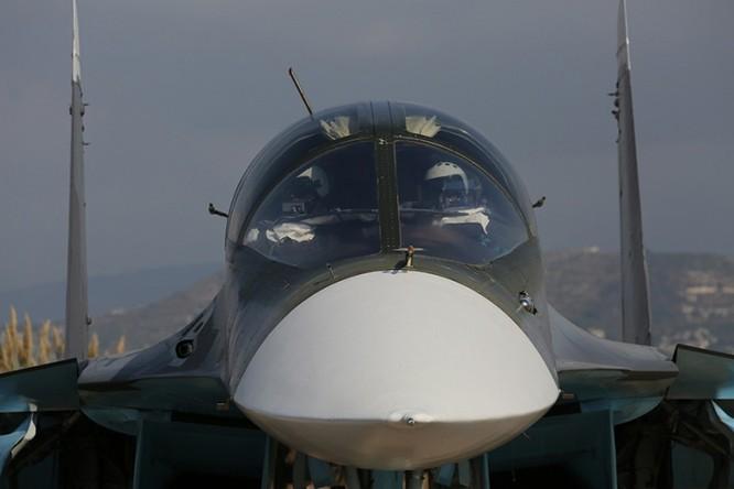 Chiến đấu cơ Su-34 của Nga tham chiến tại Syria ảnh: RT