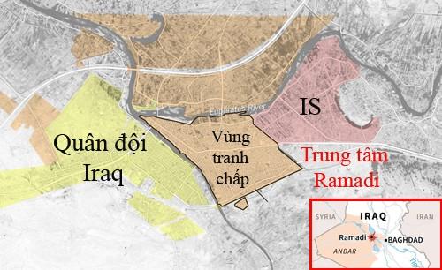 IS bị dồn vào đường cùng ở Ramadi ảnh 1