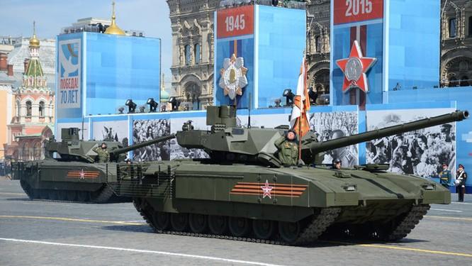 Siêu tăng Armata của quân đội Nga