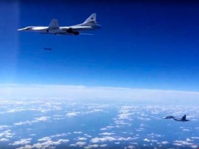 Không quân chiến lược Nga lần đầu thực chiến tại chiến trường Syria