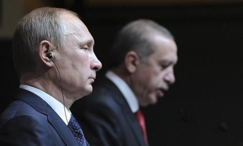 Ông Putin và Erdogan đang trong một cuộc chiến tranh lạnh