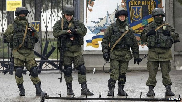 Nga và bí mật chiến dịch thu hồi bán đảo Crimea ảnh 1