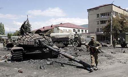 Nga tổn thất bao nhiêu trong cuộc chiến với Gruzia năm 2008 ảnh 4