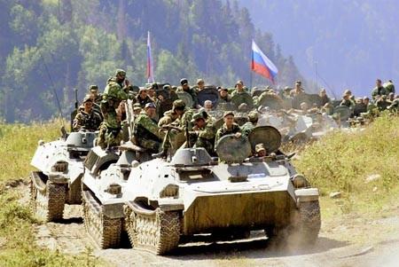 Nga tổn thất bao nhiêu trong cuộc chiến với Gruzia năm 2008 ảnh 1