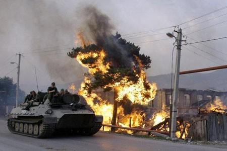 Nga tổn thất bao nhiêu trong cuộc chiến với Gruzia năm 2008 ảnh 2