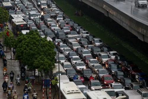 Phân luồng, cấm phương tiện nhiều tuyến đường để phục vụ Đại hội Đảng ảnh 1