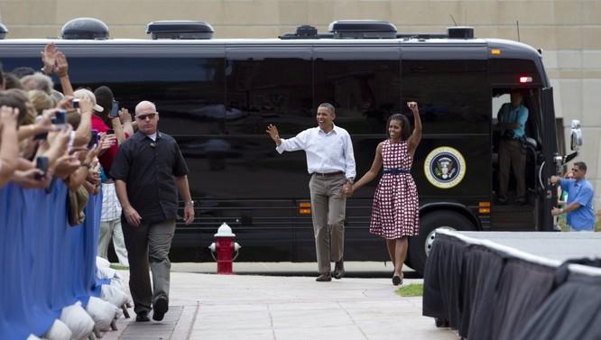 """""""Khách sạn di động"""" bọc thép của Tổng thống Mỹ Obama ảnh 11"""