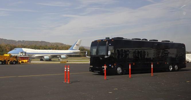 """""""Khách sạn di động"""" bọc thép của Tổng thống Mỹ Obama ảnh 12"""