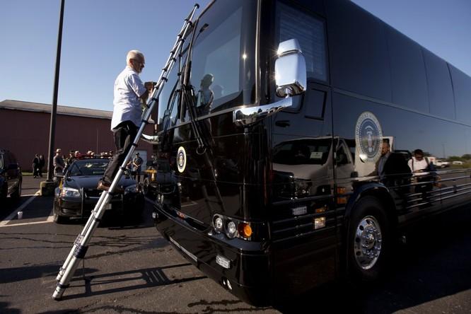 """""""Khách sạn di động"""" bọc thép của Tổng thống Mỹ Obama ảnh 5"""
