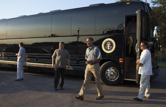 """""""Khách sạn di động"""" bọc thép của Tổng thống Mỹ Obama ảnh 6"""