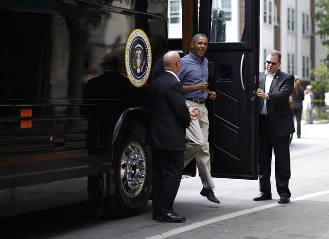 """""""Khách sạn di động"""" bọc thép của Tổng thống Mỹ Obama ảnh 7"""