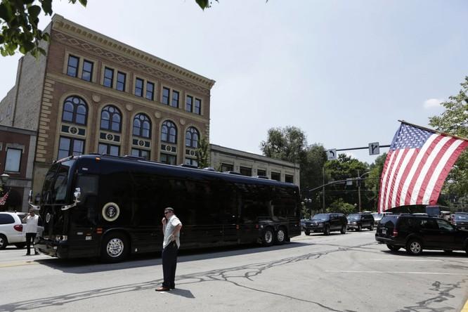 """""""Khách sạn di động"""" bọc thép của Tổng thống Mỹ Obama ảnh 8"""