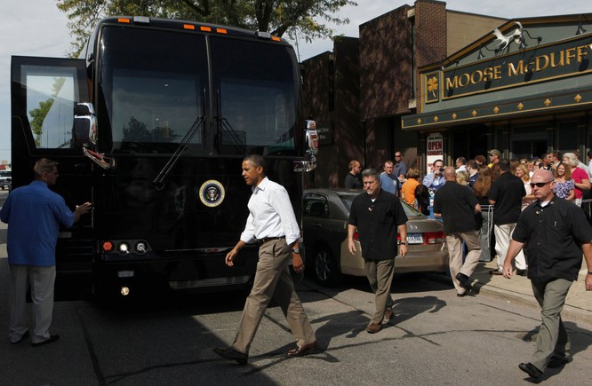 """""""Khách sạn di động"""" bọc thép của Tổng thống Mỹ Obama ảnh 9"""