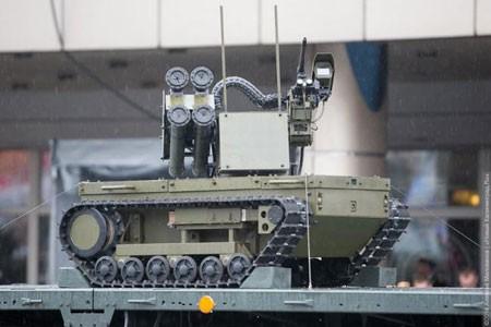 Nga tiến nhanh tới tham vọng siêu cường robot chiến đấu ảnh 1