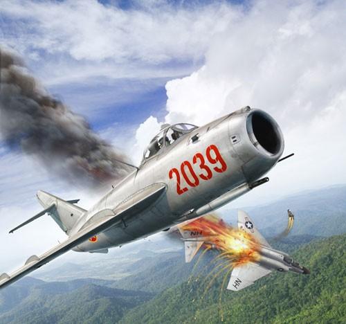"""Không quân Việt Nam trị """"Con ma"""" Mỹ trên bầu trời miền Bắc ảnh 4"""