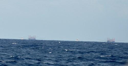 Tàu Trung Quốc tăng đột biến quanh bãi ngầm thuộc Bà Rịa-Vũng Tàu ảnh 8