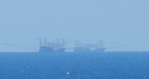 Tàu Trung Quốc tăng đột biến quanh bãi ngầm thuộc Bà Rịa-Vũng Tàu ảnh 1