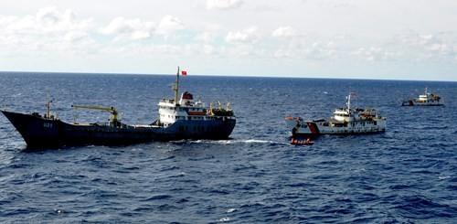 Tàu Trung Quốc tăng đột biến quanh bãi ngầm thuộc Bà Rịa-Vũng Tàu ảnh 9