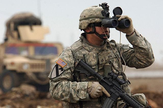 Lính Mỹ ở chiến trường Trung Đông