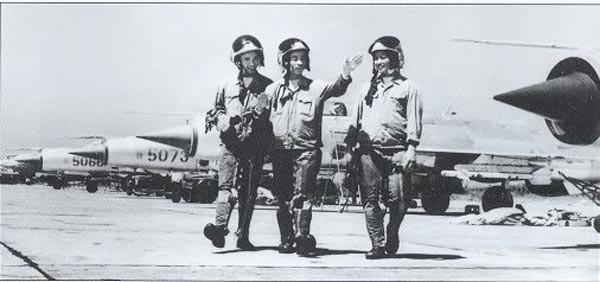 Các phi công Mig-21 Việt Nam