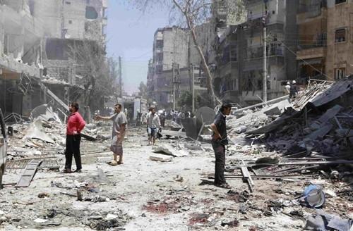 """""""Phiến quân khủng bố Syria đang mất lãnh thổ theo từng phút!"""" ảnh 2"""