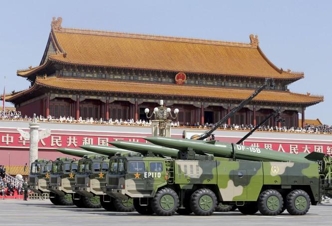 Tên lửa DF-15 được cho là chuyên chống vệ tinh của Trung Quốc