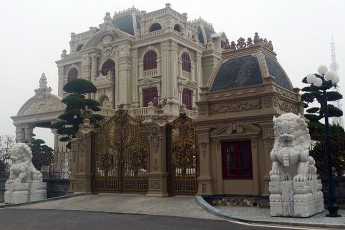 Choáng với những ngôi biệt thự trăm tỷ của đại gia Việt ảnh 1