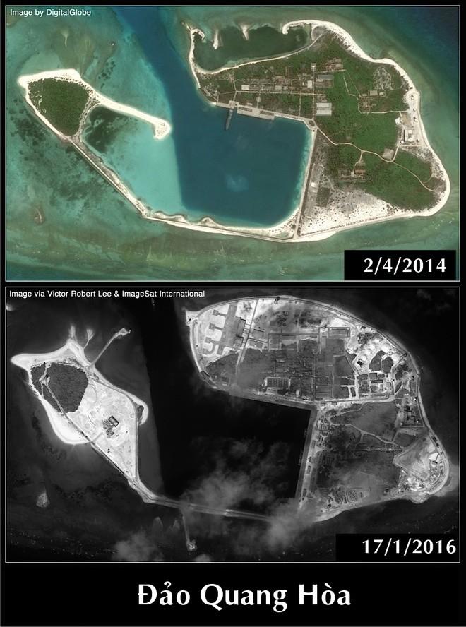 Trung Quốc xây căn cứ trực thăng trái phép ở Hoàng Sa ảnh 2