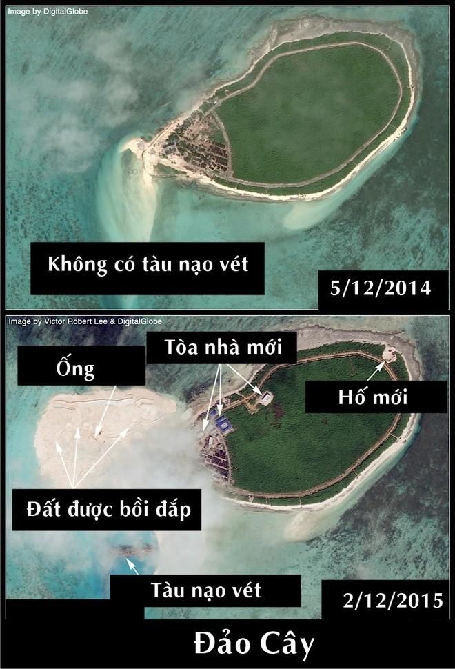 Trung Quốc xây căn cứ trực thăng trái phép ở Hoàng Sa ảnh 1