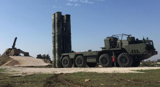 Hệ thống phòng không S-400 Nga đã sẵn sàng tại Syria