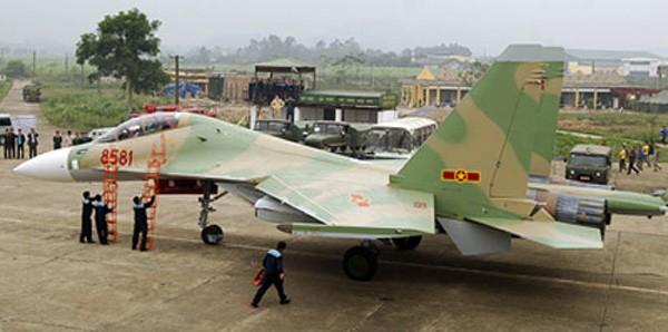 Su-30MK2 của Việt Nam là một trong các lực lượng phòng thủ biển đảo