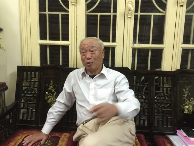 Ông Nguyễn Văn An rất tâm đắc với những minh triết trong đạo Phật và đạo Lão