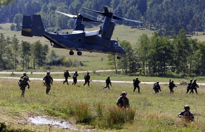Quân đội NATO tập tận ở Đông Âu