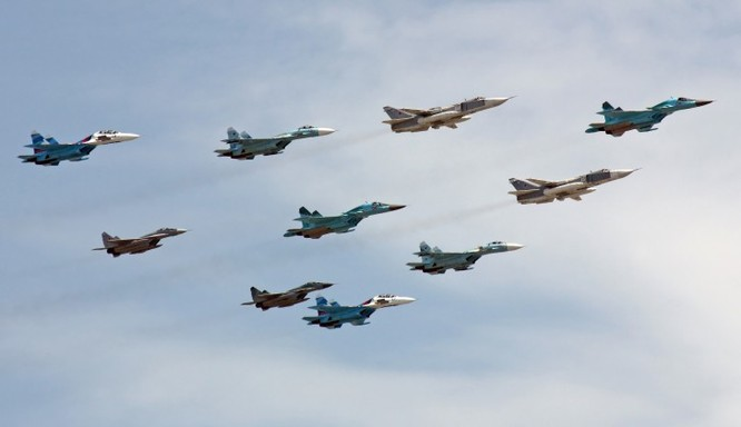 Phi đội chiến đấu cơ của Nga